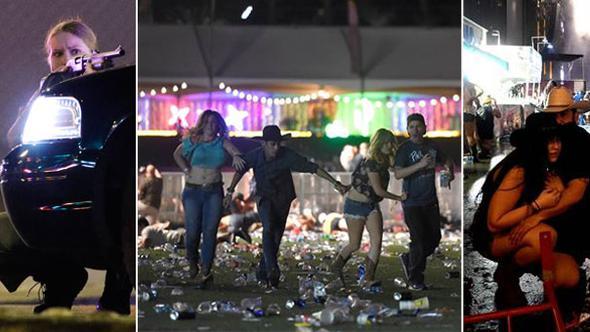ABD'de Dehşet! Las Vegas'ta Konsere Saldırı, Çok Sayıda Ölü ve Yaralı Var