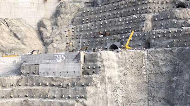 Artvin'de Baraj İnşaatında İş Kazası 1 Ölü, 3 Yaralı