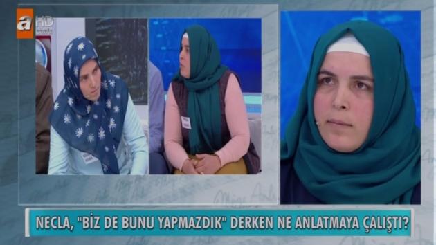 ATV Müge Anlı ile Tatlı Sert 25 Mayıs Fatma Demir Cinayetinde Necla'da Şok Sözler
