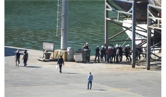 Bandırma Limanı'nda Gemi Kazası 3 Yaralı