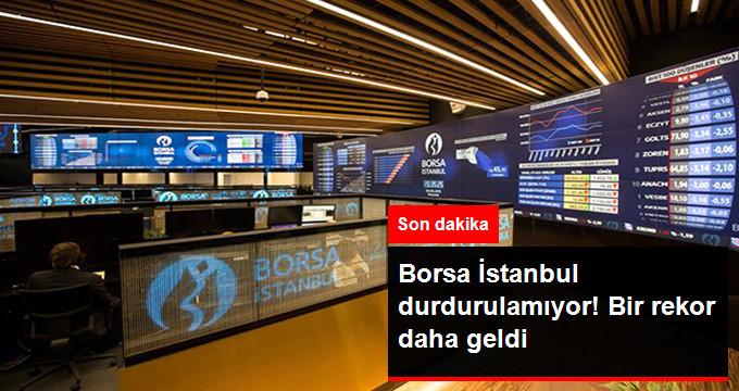Borsa İstanbul'dan Bir Rekor Daha! Tarihi Rekor 101 Bin 617 Puanla Kırıldı!