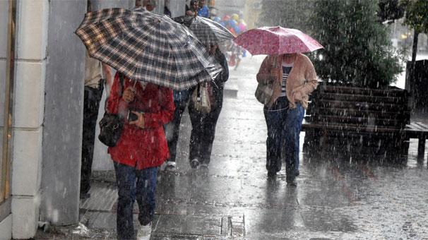 Dikkat Meteoroloji'den Son Dakika Uyarısı! Çok Şiddetli Yağış Geliyor!