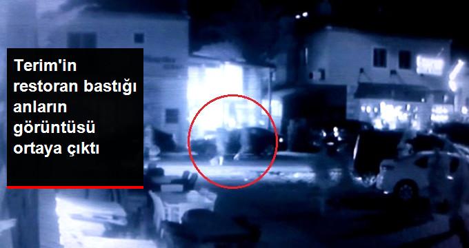 Fatih Terim'in Damatları ile Birlikte Restoran Basma Anlarına Dair Kamera Kayıtları Ortaya Çıktı!