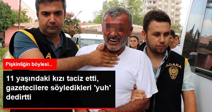 """Harakiri Yapan Pişkin Tacizciden Gazetecilere Şok Sözler """"Sizin Torununuza Mı Yaptılar"""""""