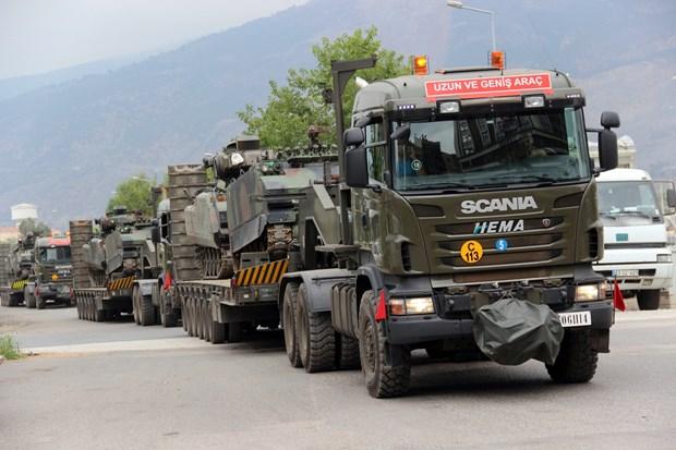 Hatay - Suriye Sınır Bölgesine Askeri Sevkiyat Devam Ediyor