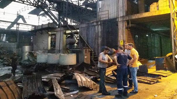 Hatay'da Patlama! Çelikhanede Kazan Patladı: 2 Yaralı