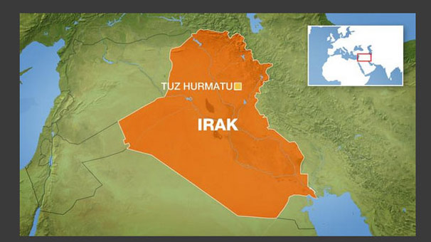 Irak'ta Türkmenleri Taşıyan Minibüse Yanlışlıkla Ateş Açıldı!