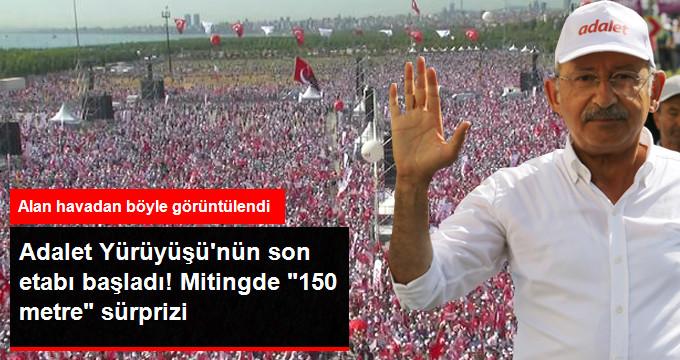 Kemal Kılıçdaroğlu Tek Başına Yürüyerek Maltepe'ye Miting Alanına Gidiyor!