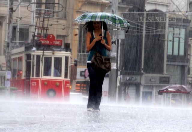 Meteoroloji Son Dakika Açıklaması! İstanbul'a Yarın Yağmur Geliyor!