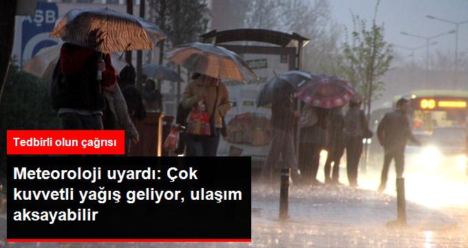 Meteoroloji'den İstanbul İçin Yeni Uyarı! Yağış Çok Fena Geliyor