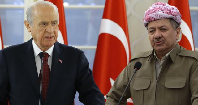 """MHP Lideri Devlet Bahçeli'den Flaş Çıkış: """"Ateşle Oynadın Barzani, 5 Bin Ülkücü Hazır Bekliyor"""""""