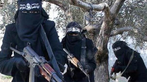 Musul'da Yakalanan 25 DEAŞ'lı Kadın Canlı Bombadan 3'ü Türk Çıktı!