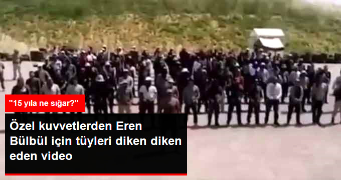 """Özel Harekatçılardan Eren Bülbül İçin Ağlatan Video: """"15 Yıla Ne Sığar?"""""""