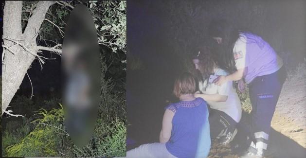 Pikniğe Çıktığı Kocasının Ağaçta Asılı Cesedini Buldu