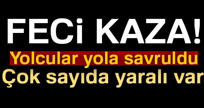 Samsun'da Korkunç Kaza! Midibüsle TIR Çarpıştı, 30 Yaralı