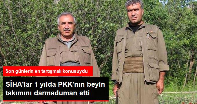 SİHA'lardan PKK'ya Darbe Üstüne Darbe! Bir Yılda PKK'nın Beyin Takımı Darma Duman Oldu