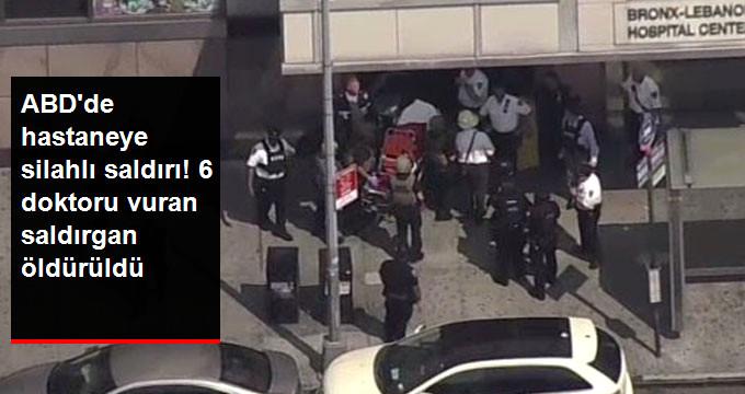 Son Dakika! ABD'de Hastaneye Silahlı Saldırı, Polis Bölgeyi Kuşattı!