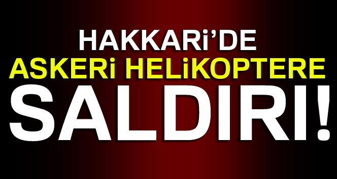 Hakkari Çukurca'da PKK'lı Teröristlerin Roketli Saldırısında İsabet Alan Askeri Helikopter Zorunlu İniş Yaptı, Personel Yara Almadan Kurtuldu!