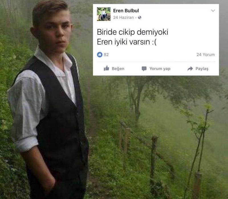 Teröristlerin Yerini Gösterirken Şehit Olan 15 Yaşındaki Eren Bülbül Son Yolculuğuna Uğurlanıyor