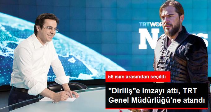 TRT'nin Yeni Genel Müdürü İbrahim Eren Oldu!