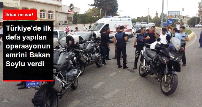 Türkiye'de Bir İlk! 81 İlde 28 Bin Polis ve Jandarmanın Katılımıyla Motosiklet Denetimi Yapıldı!