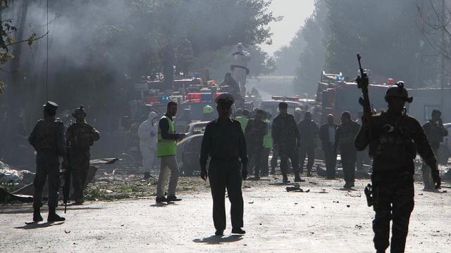 Afganistan'da Memurları Taşıyan Otobüse Canlı Bomba Saldırısı, Çok Sayıda Ölü ve Yaralı Var!