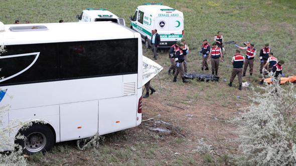 Ankara'da Yolcu Otobüsü Kazası, Çok Sayıda Ölü ve Yaralı Var!