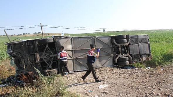Balıkesir Susurluk'ta Yolcu Otobüsü Devrildi 1 Ölü 47 Yaralı