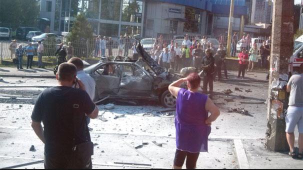 Ukrayna'nın Başkenti Kiev'de Terör Saldırısı! Saldırıda Albay Maksim Shapoval Öldü!