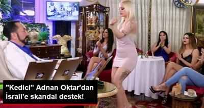 Adnan Oktar'dan Bir Skandal Daha! Mescid-i Aksa'da Müslümanları Katleden İsrail Polisine Destek Verdi!