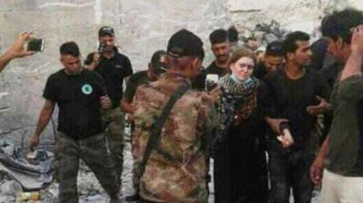 Almanya Her Yerde Arıyordu! IŞİD'e Katılan 16 Yaşındaki Alman Kız, Musul'da Ele Geçirildi!