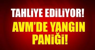 Ankara Karum AVM'de Yangın! AVM Boşaltılıyor!