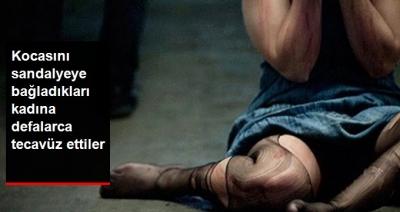 Ankara'da Kan Donduran Olay! İranlı Kadına Sandalyeye Bağladıkları Kocasının Gözleri Önünde Dakikalarca Dehşeti Yaşattılar!