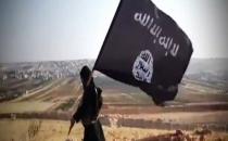 Bölgede IŞİD Bayrağı