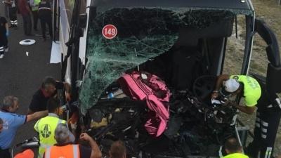 Bolu'da Korkunç Kaza! Yolcu Otobüsü ile Kamyon Çarpıştı: 1 Ölü, 21 Yaralı