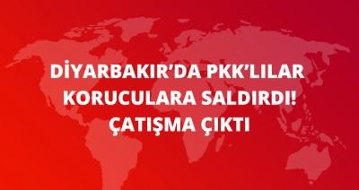 Diyarbakır'da PKK'lı Teröristler ile Korucular Arasında Çatışma Çıktı: 1'i Ağır 3 Korucu Yaralı