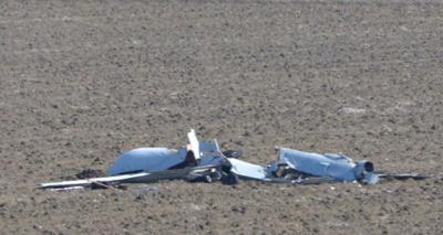 Elazığ'da Milli İnsansız Hava Aracı ANKA Test Uçuşu Sırasında Düştü!