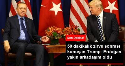 Eroğan - Trump Görüşmesi 50 Dakika Sürdü! Trump: Erdoğan Yakın Arkadaşım Oldu!