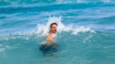 Eski ABD Başkanı Barack Obama, Üvey Babasının Memleketi Endonezya'da Tatil Yapıyor!