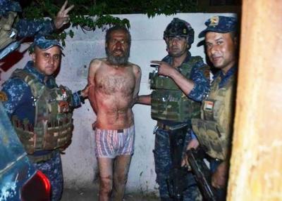 Irak'ta Yakalanan IŞİD Komutanının Çıplak Fotoğrafları Yayınlandı!