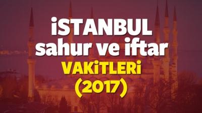 İstanbul İçin 27 Mayıs İmsak Vakti 2017 Diyanet! İstanbul İçin İlk Sahur Saat Kaçta? İstanbul İçin 27 Mayıs 2017 İftar Vakti Saat Kaçta?