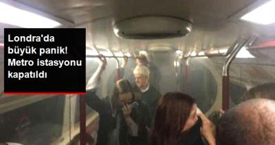 Londra'da Panik! Oxford Caddesi Metro İstasyonu Boşaltıldı