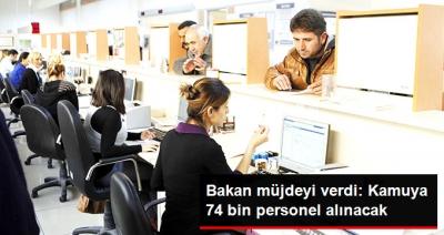 Maliye Bakanı Ağbal Açıkladı: Kamuya 74 Bin Memur Alımı Yapılacak