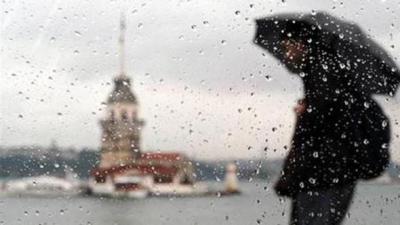Meteoroloji Uyardı! O Güne Dikkat, İstanbul'a Fırtına ve Yağış Geliyor!
