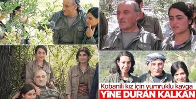 PKK Elebaşları Kız Yüzünden Birbirine Girdi! Kandil'de Yumruklu Kız Kavgası!