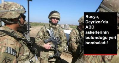 Rusya Deyrizor'da Bu Defa ABD Askerlerini Yanlışlıkla Bombaladı