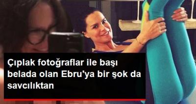 Sansürsüz Çıplak Fotoğraflar Olduğu İddia Edilen Ebru Şallı'ya Savcılıktan Büyük Şok!