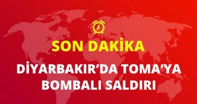 Son Dakika! Diyarbakır'da TOMA'ya Bombalı Saldırı Düzenlendi!