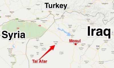 Son dakika! Irak ordusu Kuşatma Altına Alınan Telafer'i Bombalıyor!