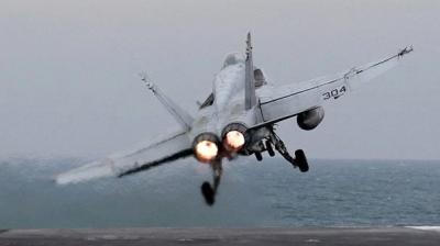 Son Dakika! Suriye'de ABD'ye Ait Savaş Uçağı Düştü: 2 Yaralı